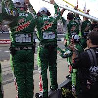 NASCAR celebration