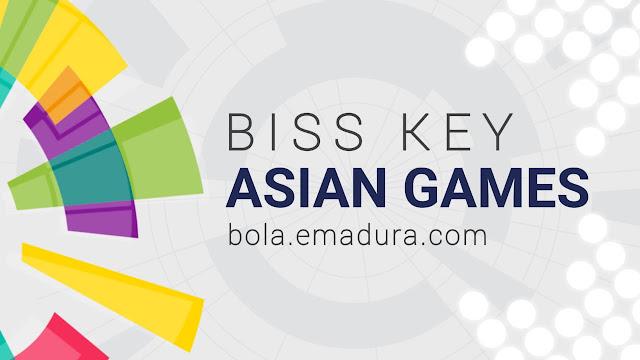 Gambar Kode biss key asian games 2018 terbaru