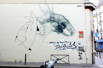 Sunday Street Art : Shok 1 - passage Hébrard - Paris 10
