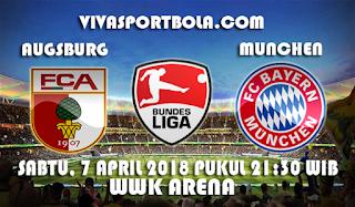 Prediksi Augsburg vs Bayern Munchen 7 April 2018
