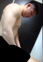 [1504] Nice straight boy & cum shooting