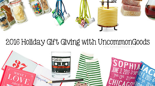 Holiday Gift Giving with UncommonGoods