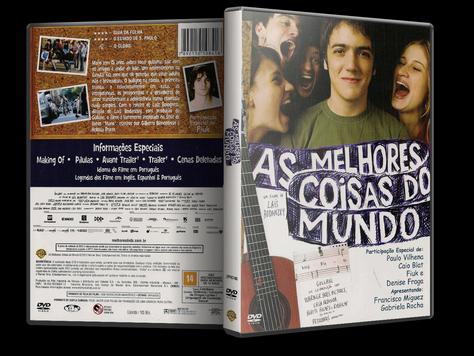 Capa DVD As Melhores Coisas do Mundo