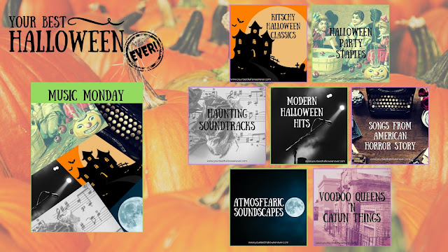 Your Best Halloween Ever, Music Monday Year One Recap, best top Halloween party music songs