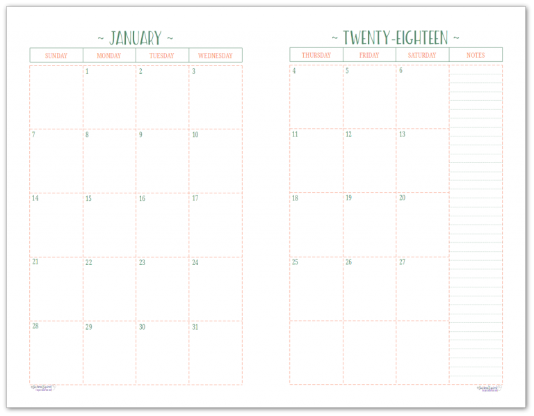 Musings of an average mom 2018 vertical calendars for Photo templates from stopdesign image info