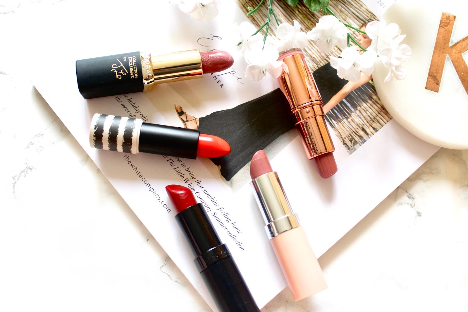 Top Five: Drug Store Lipsticks