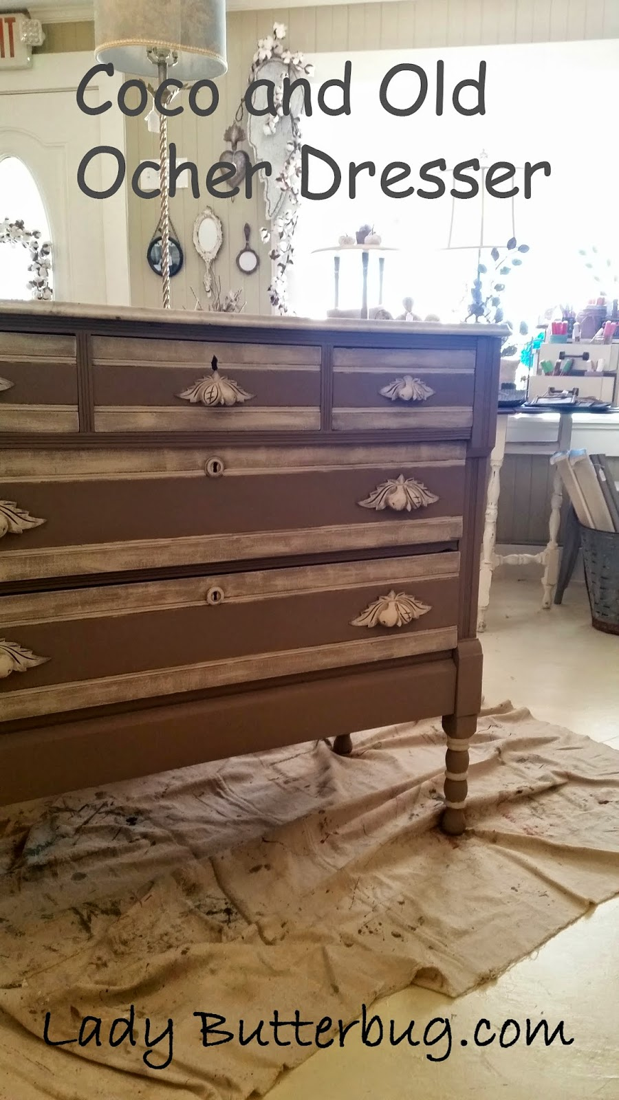 Chalk Paint 174 Dresser In Colors Coco And Old Ochre