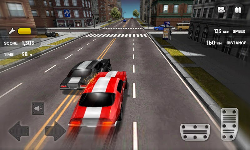 لعبة Race the traffic  للأندرويد
