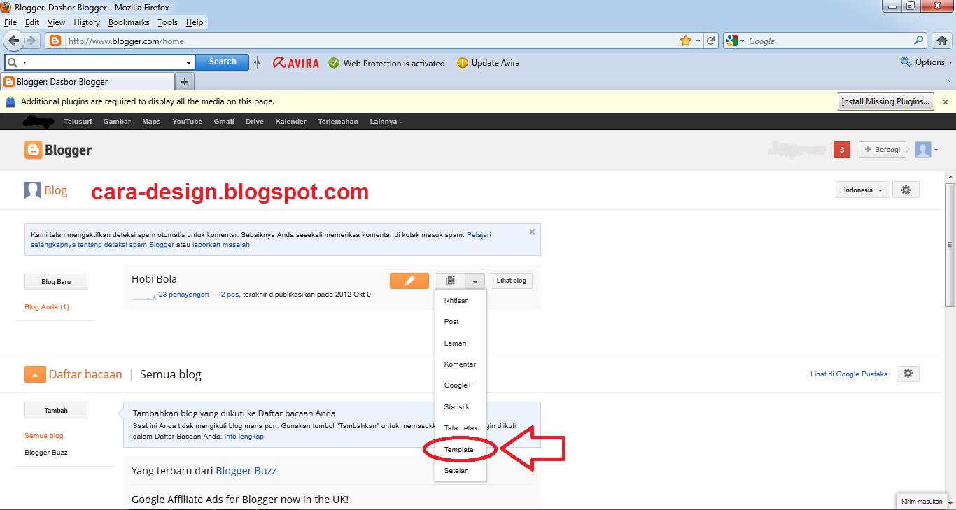 xml templates for blogger free download - cara mengganti template blog dari hasil download