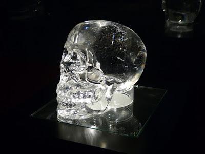 水晶ドクロ