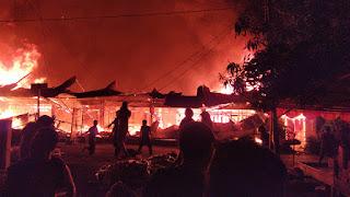 Pasca Kebakaran, Pedagang Pasar Tempe Bakal Direlokasi