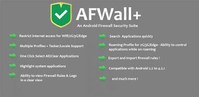 AFWall+ (Donate) Apk + Mod for Android