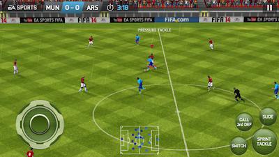 FIFA 14 Mobile Android Mod Season 2017/2018