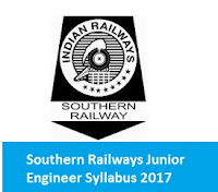 Southern Railway Junior Engineer Syllabus