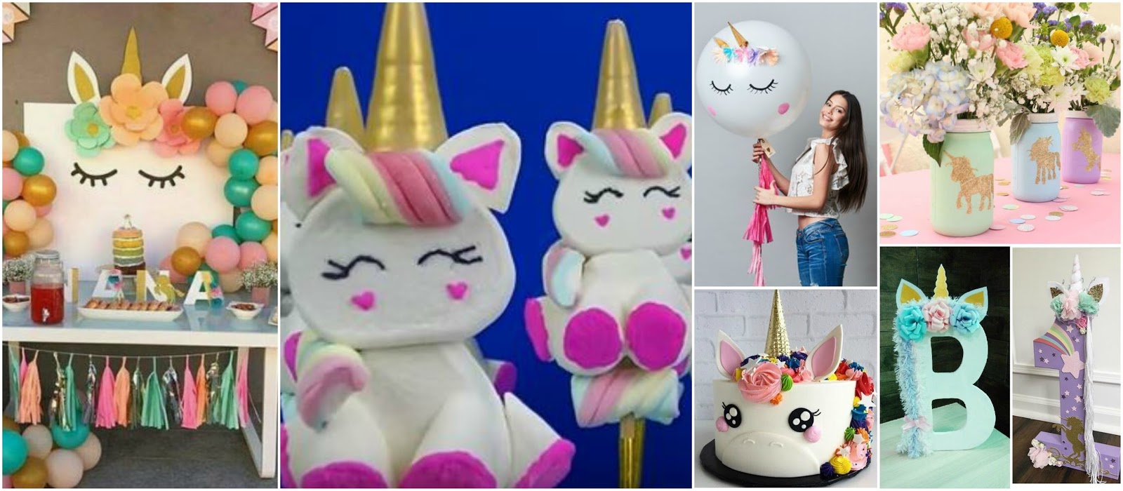 9 ideas para decorar y hacer bombones de unicornio para tu for Ideas faciles decoracion