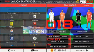 Download FTS Mod PES 2018 HD Full Europe Update Transfer