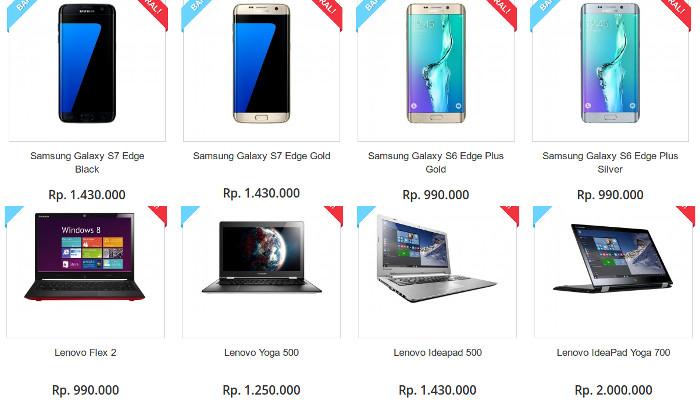 Situs Palsu Promo Lazada Com Jual Samsung Galaxy S7 Edge 1 4 Juta