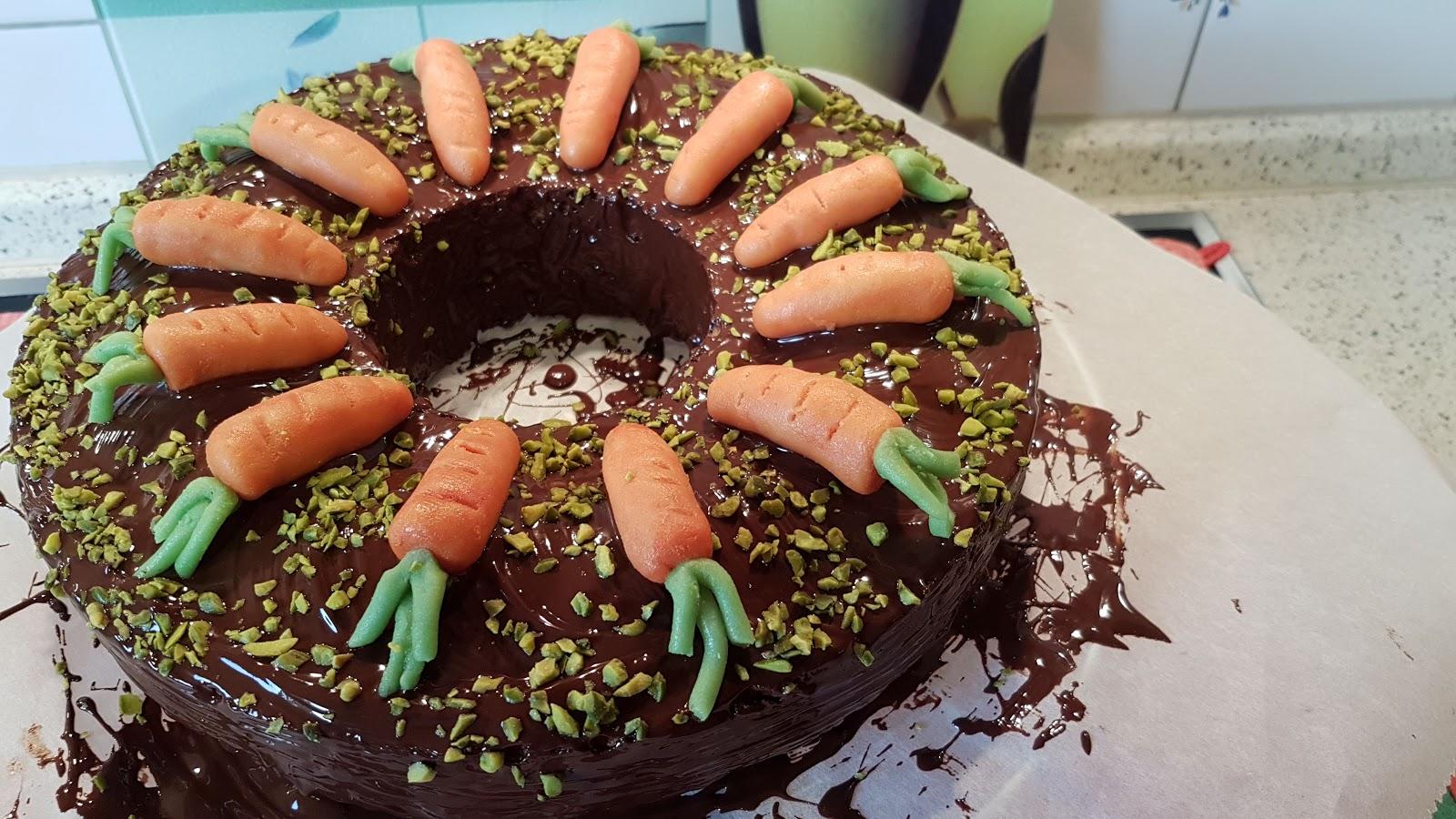 Aus Dem Lameng Karotten Kuchen Nach Dr Oetker