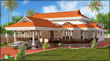 Architecture Kerala 3 Bhk In Single Floor House Elevation