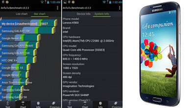 hasil test benchmark lenovo ideaphone k900