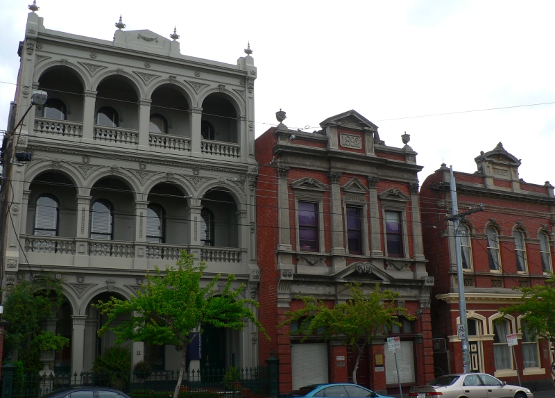 victorian architecture fitzroy steampunk street brunswick minecraft file homes diagrams