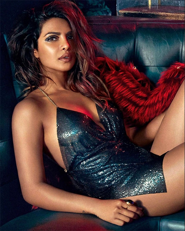 Priyanka Chopra Spicy Poses for Vogue Magazine India September 2017