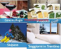 Logo Vinci la neve sull'Alpe Cimbra: con i prodotti Valsugana Sapori Lotto vinci 82 favolosi premi!