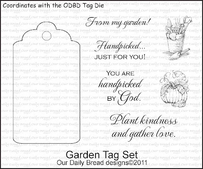 Our Daily Bread designs Garden Tag Set