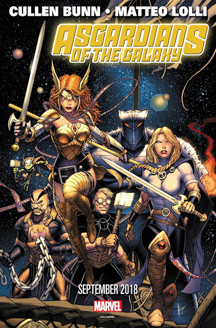The Asgardians Of The Galaxy
