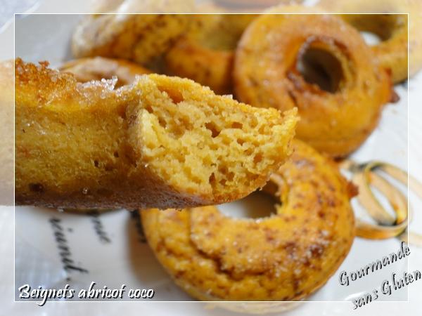 donut aux abricots