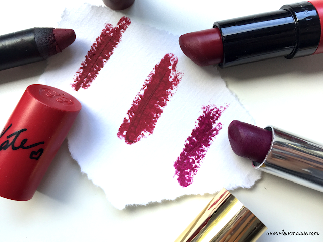 My favourite autumnal/fall lipsticks | Primark, Rimmel and Elizabeth Arden | Love, Maisie