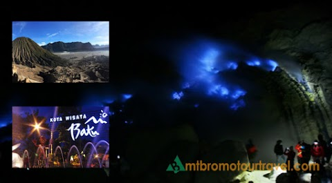 Ijen Blue Fire and Bromo Malang City Tour Package 4 days