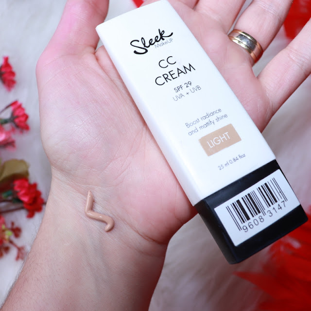 sleek makeup cc cream krem light incelemesi