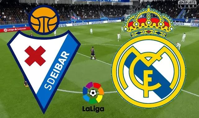 ريال مدريد وايبار والقنوات الناقله 6-4-2019 ! Real Madrid VS Eibar