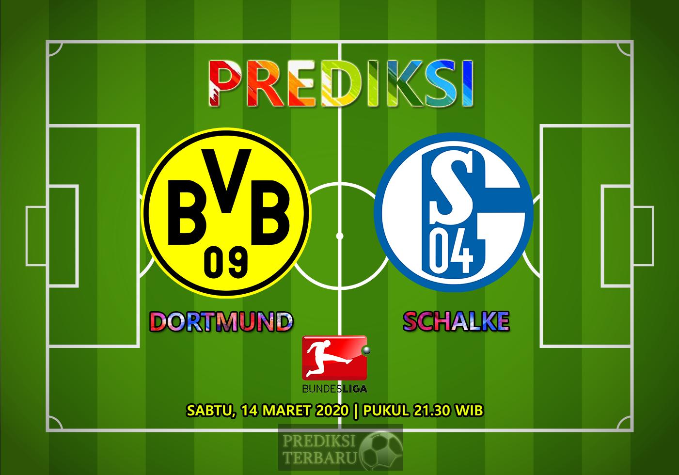Prediksi Borussia Dortmund Vs Schalke 04 Sabtu 14 Maret