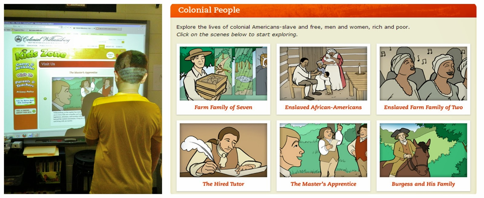 medium resolution of Life in Colonial America Stations - The Brown Bag Teacher