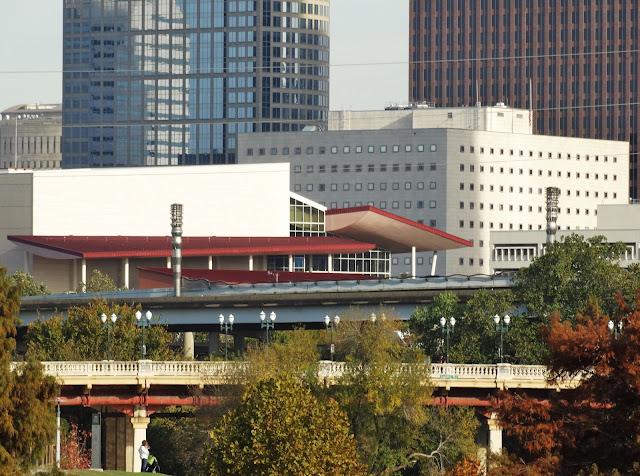 Sabine Street Bridge / Theater District