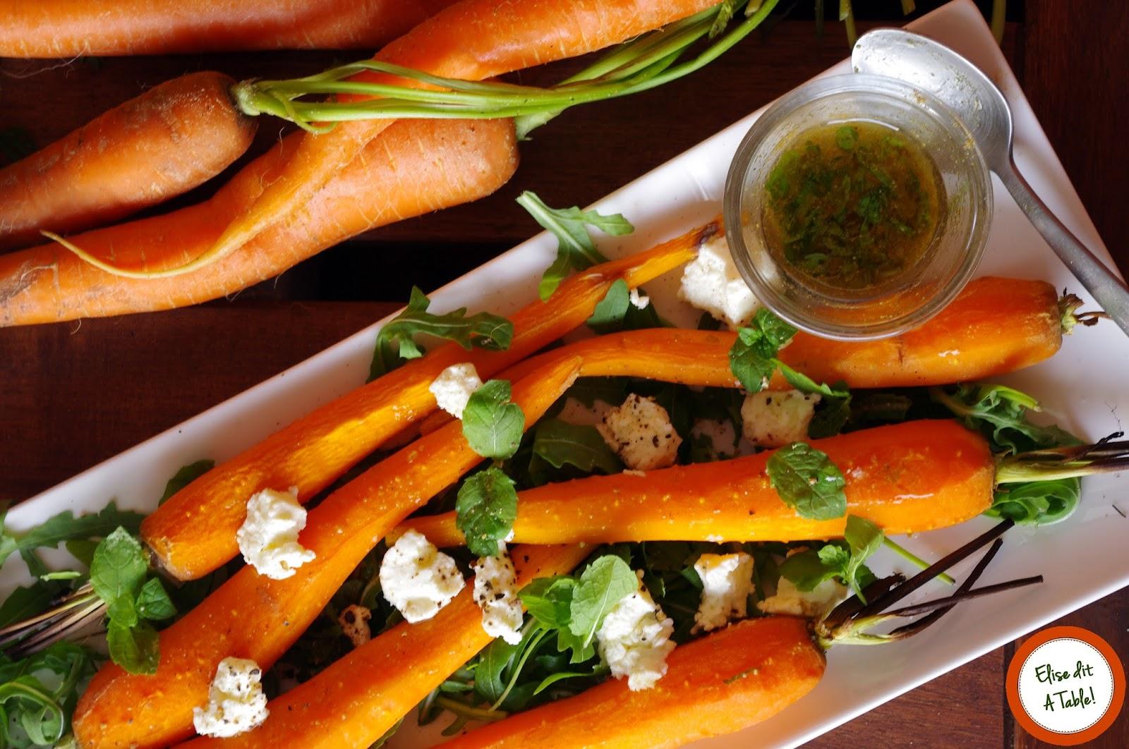 Recette carottes grill es au cumin et la menthe blog cuisine - A bon verre bonne table recettes ...