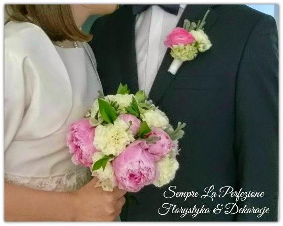 Bukiet ślubny Sempre La Perfezione Florystyka & Dekoracje