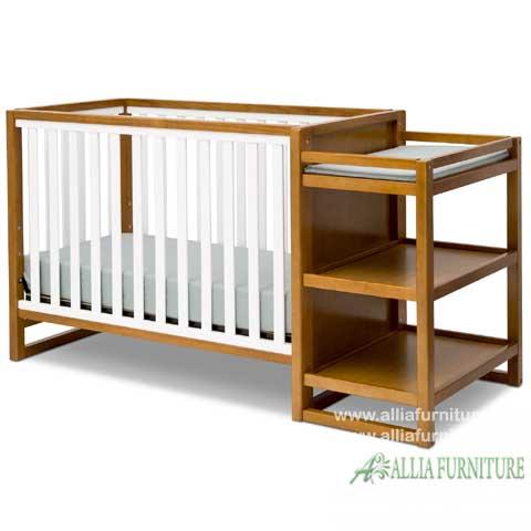 tempat tidur bayi balita model lionel