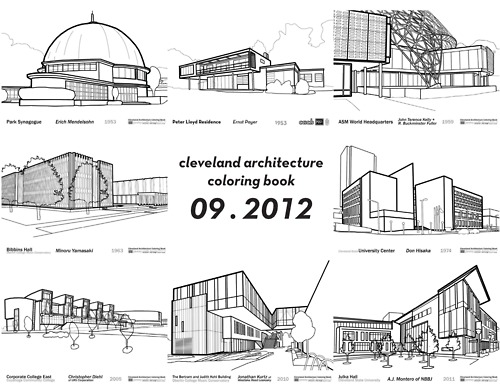 Architecture Diagrams Galleries: Architecture Coloring Book