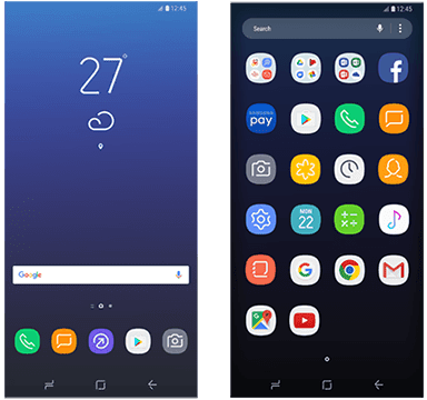 Images reveal Galaxy S8's Home Screen Setup With Launcher and Icons