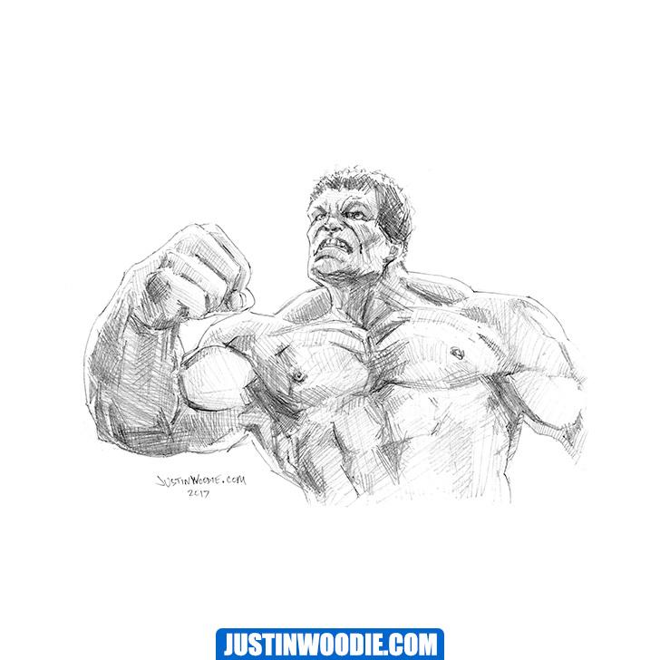 Hulk Illustration