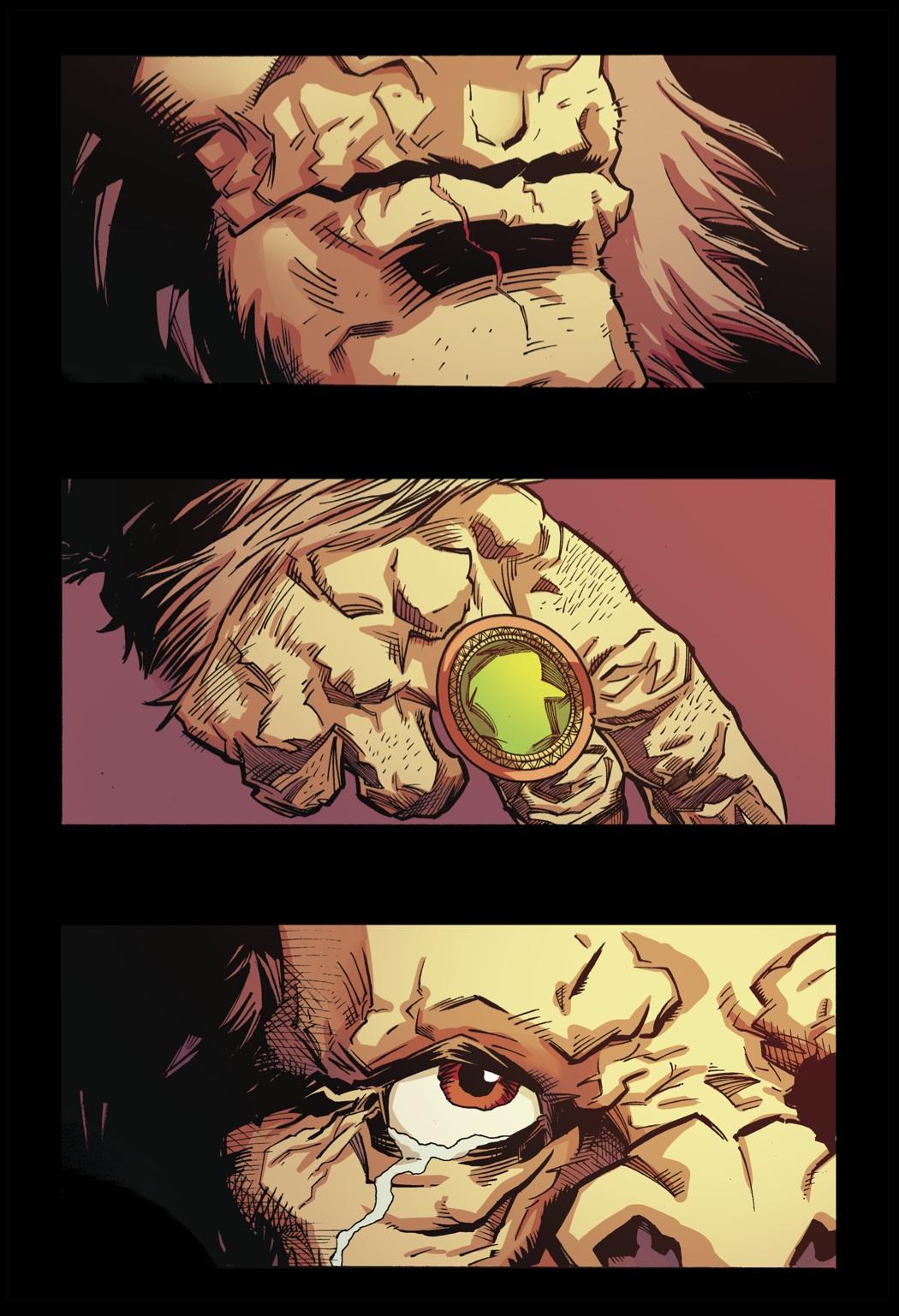 Bigfoot - Sword of the Earthman: Bigfoot comic book sword ...Bigfoot Comic