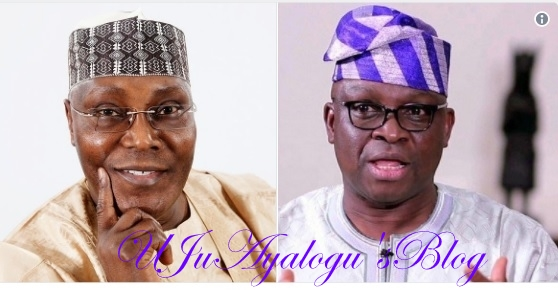 2019: PDP Secretly Settles For Atiku, Fayose As Presidential Joint Ticket