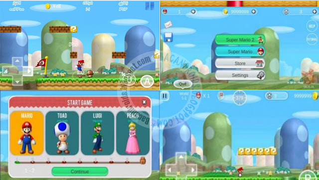 super mario bros 2 Apk HD Full Android Mod Money Unlocked Character