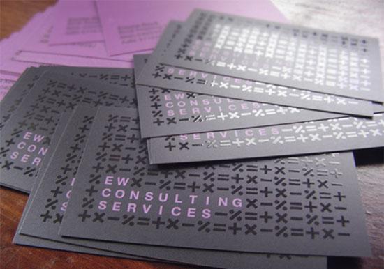 55 ejemplos de diseño de tarjetas de presentacion purpura