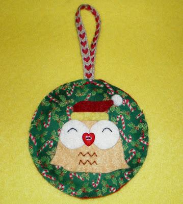 Adorno Navidad Buho Christmas Ornament Owl