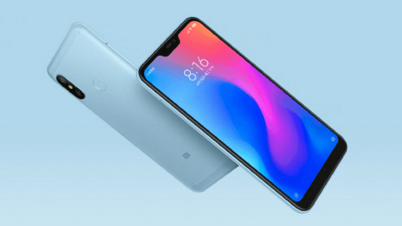 Xiaomi Redmi 6 Pro now official