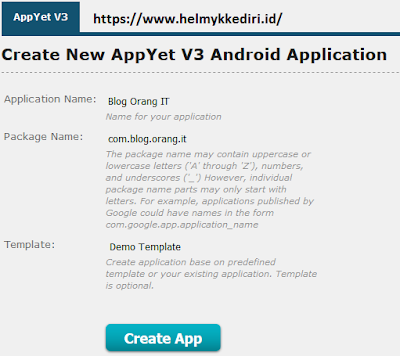 mengubah blog menjadi aplikasi androidv